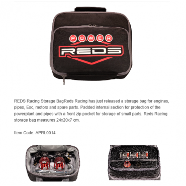 REDS Racing Storage Bag