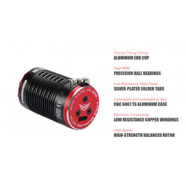 REDS GEN3  V8 BRUSHLESS...
